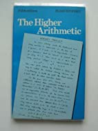 The Higher Arithmetic by J. H. Davenport…