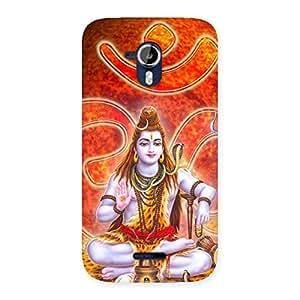 Premium Shiv Omkara Multicolor Back Case Cover for Micromax Canvas Magnus A117