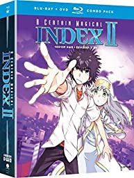 Certain Magical Index II: Season Two (Blu-ray/DVD Combo)
