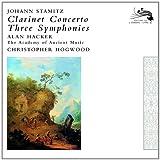 echange, troc  - Stamitz concerto pour clarinette, trois symphonies