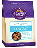 Old Mother Hubbard Mother's Solutions Crunchy Natural Dog Treats, Low Fat Recipe Biscuits, 3.3-Pound Bag