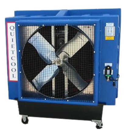 Quietaire QC36B1X 36 Inch Belt Drive Portable Evaporative Cooler