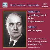 SIBELIUS : Symphonie N° 7 ; Tapiola ; La Fille de Pohjola