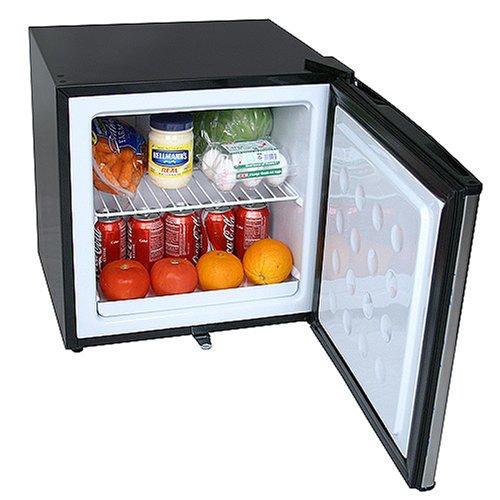 mini fridge with small freezer