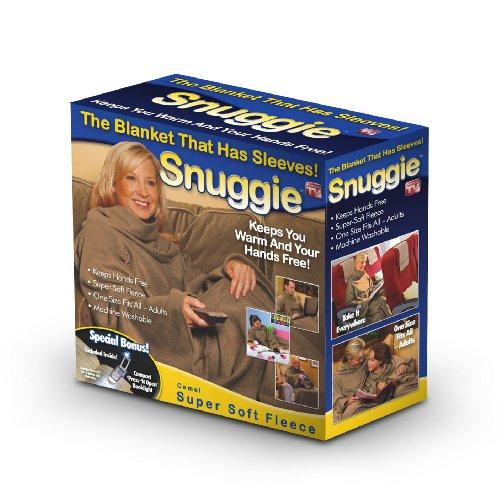 Snuggie Original Fleece Blanket with Sleeves