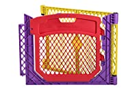 North States Superyard Colored Play Door with 2 Panel Extension by North States
