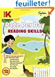 Kindergarten Page Per Day: Reading Sk...