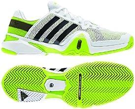 Adidas Men39s Adipower Barricade 8 Tennis Shoe-Running WhiteNight ShadeSolar Slime-75