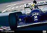 アイルトン・セナ F1カレンダー 2013(A.Senna)「Turn in」Photo by 熱田 護