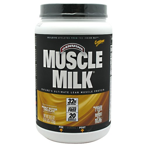 Cytosport Muscle Milk Peanut Butter Chocolate - 2.47 Lbs (1120 G) (6 Pack)