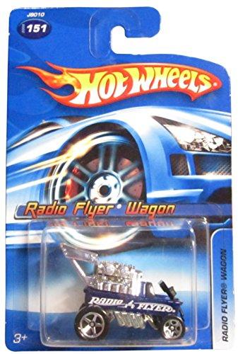 Hot Wheels 2006-151 BLUE Radio Flyer Wagon 1:64 Scale