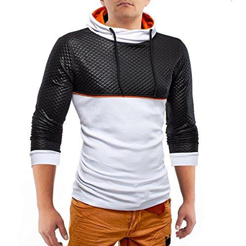 Maglioni Longsleeve BodyRock ID1170 (2 colori), Farben:Weiß;Größe Pullover:L