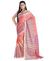 SB Creations Women's Turcky Silk Saree (SB_101_Multi)