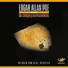 Der Untergang des Hauses Usher Hörbuch von Edgar Allan Poe Gesprochen von: Olaf Pessler