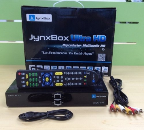 New Dreamland(TM) High Quality Jynxbox Ultra HD V3 FTA Satellite tv Receiver with Built-in WiFi & JB200