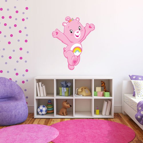 """Care Bears Cheer Bear Wall Graphic Decal Sticker 25"""" X 20"""" front-263581"""