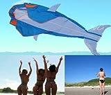 Amazona's presentz 立体イルか凧 カイト フライング効果が非常に素晴らしいです 飛び、持ち運びやすいです。タコベストセラー