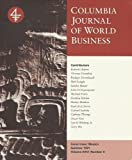 img - for Columbia Journal of World Business: Summer 1991, Volume 26, Number 2 book / textbook / text book