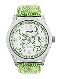 Omax Party Wear Ladies White Dial Watch - B01DJ4FI9Q