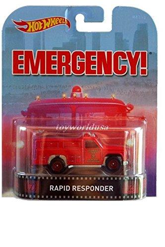 Hot Wheels Retro Emergency Responder