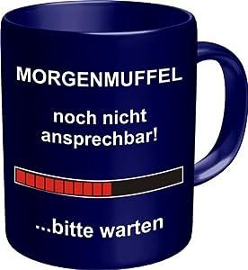 Rahmenlos Tasse [en langue allemande] Morgenmuffel