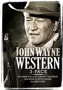 John Wayne Western 3-Pack (Includes Man Who Shot Liberty Valance, Sons of Katie Elder, The Shootist) (Bilingual)