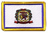 USA West Virginia Flag embroidered Iron-On Patch