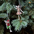 Santa's Little Fairy Ornaments (Set of 2 Assorted)