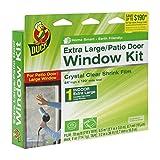 Duck Brand 282450 Indoor Extra Large Window/Patio Door Shrink Film Kit, 84-Inch x 120-Inch