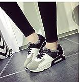 (チェリーレッド) CherryRed レディース 靴 シューズ カジュアルシューズ スニーカー 運動靴 脚長効果 美脚効果 軽量 履き心地よい 通気性 厚底 ファスナー 40 ブラック