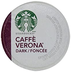 Starbucks Caffe Verona, Dark, K-Cup Portion Pack for Keurig K-Cup Brewers, 96 Count, Garden, Lawn, Maintenance made by Garden-Outdoor