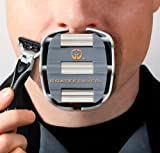 51xG99myPML. SL160  Goateesaver   The Goatee Shaving Template