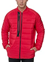 Geographical Norway Chaqueta Guateada Compact (Rojo)