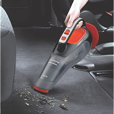 Black & Decker ADV1210 Dustbuster Automatic Car Vacuum Cleaner (Black and Orange)