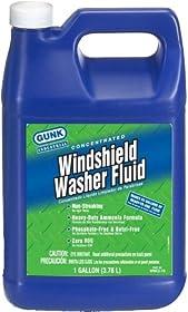 Gunk WWCZ-1G-4PK Summer Windshield Washer Solvent - 1 Gallon, (Case of 4)
