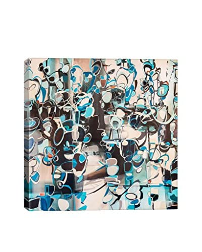 Rebecca Moy Gallery Hedge Wrapped Canvas Print