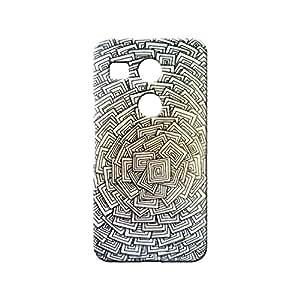 BLUEDIO Designer 3D Printed Back case cover for LG Nexus 5X - G4005