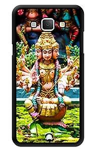 "Humor Gang Shri Kandaswamy Kovil God Printed Designer Mobile Back Cover For ""Samsung Galaxy A8"" (3D, Glossy, Premium Quality Snap On Case)"