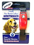 Pet Tag Classic No Bark Collar, Red, Small