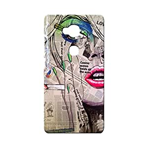 BLUEDIO Designer Printed Back case cover for Huawei Honor X - G0047