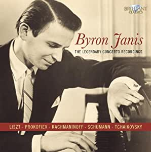 Byron Janis- Legendary Concerto Recordings