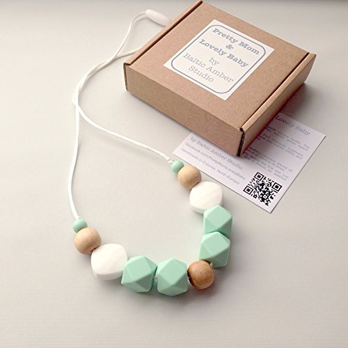 Danish-Designer-Teething-Necklace-GIFT-Box-Silicone-Natural-Wood-Jewelry