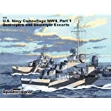US Navy Ships Camouflage WWII: Destroyers and Destroyer Escorts - Specials series (6099)