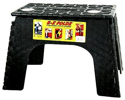 "B & R Plastics E-Z Foldz 12"" Step Stool"