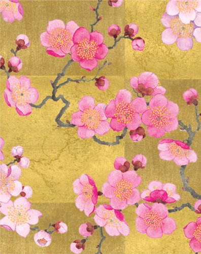 Entertaining with Caspari Bridge Tallies, Plum Blossom