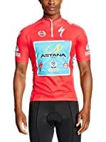 MOA FOR PROFI TEAMS Maillot Ciclismo Astana Vuelta (Rojo / Turquesa)