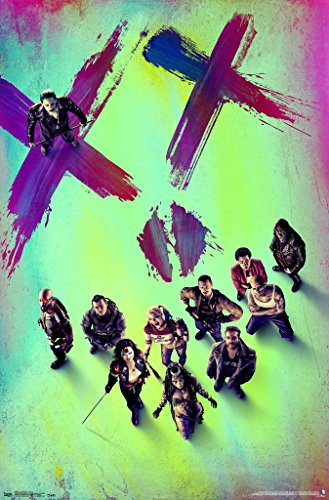 "Suicide Squad - Movie Poster / Print (The Squad - The Joker, Harley Quinn, Deadshoot) (Size: 24"" x 36"")"