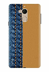 Noise Designer Printed Case / Cover for Coolpad Note 5 / Patterns & Ethnic / Faded Like Denim