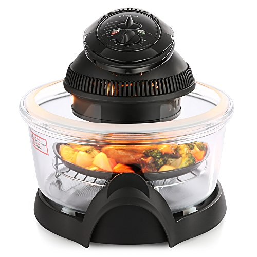 Haier Oil-Less Airfryer 14.5 litres Multifunction Health Halogen Turbo Hot Air Fryer Multi Grill Oven Temperature Control No Splatter (Fryer Oven compare prices)