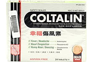 Coltalin Cold (Adult) 24tbls - elitegroup1628.com